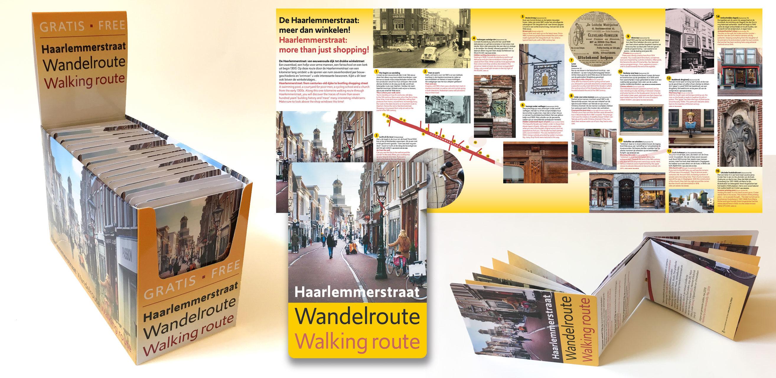 Haarlemmerstraat wandelroute