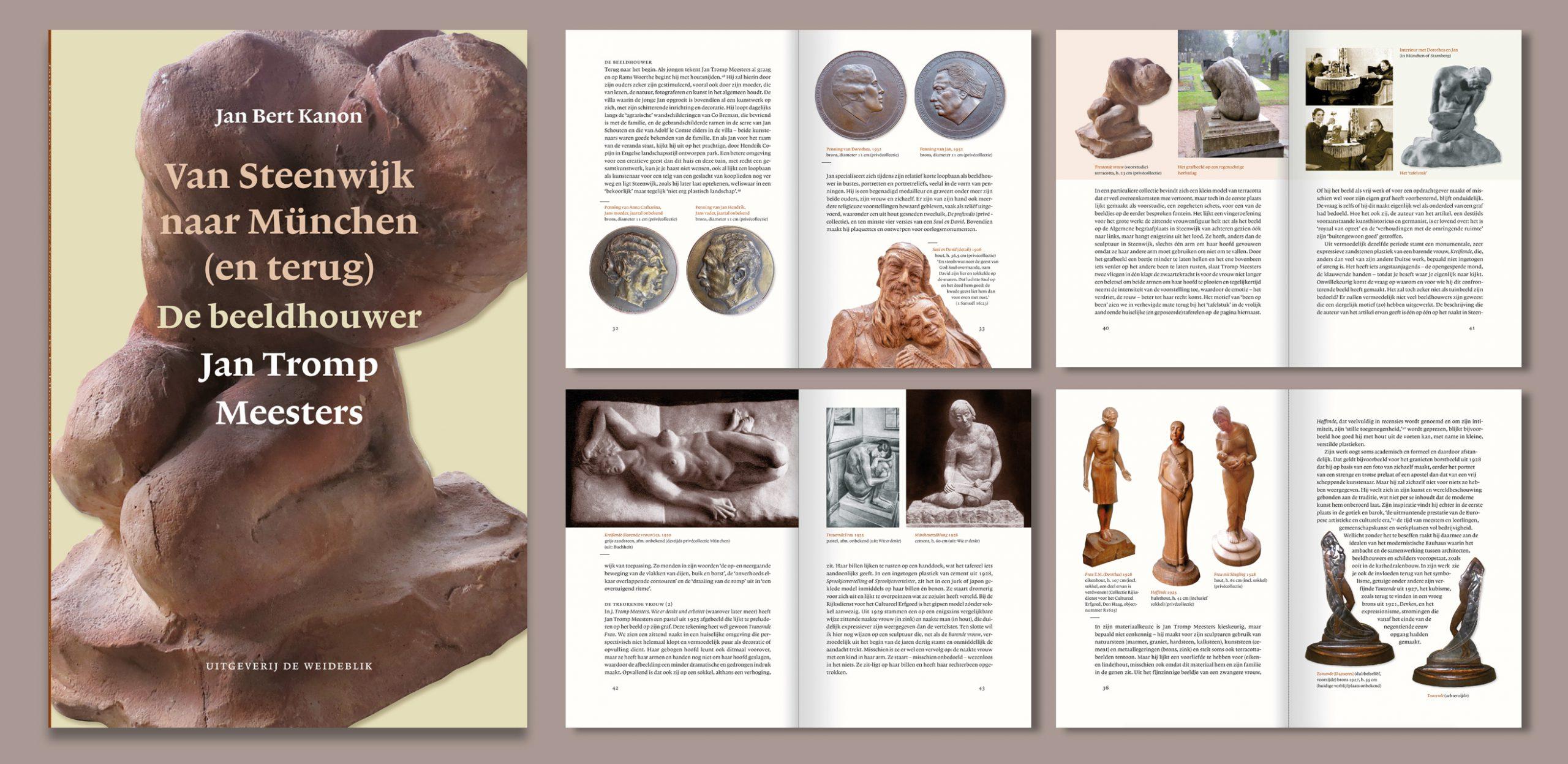 Onbekende beeldhouwer in Steenwijk ontdekt