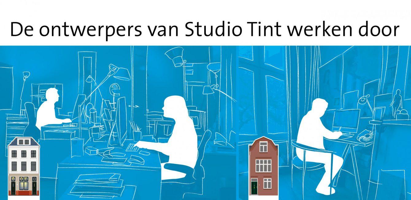 De ontwerpers van Studio Tint werken door